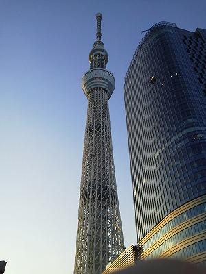 東京スカイツリー2011.12月撮影
