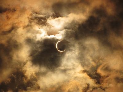 金環日食…環になってないけど;