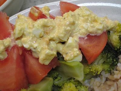 トマト+ゆで卵入りサンクゼールの具だくさんタルタルソース