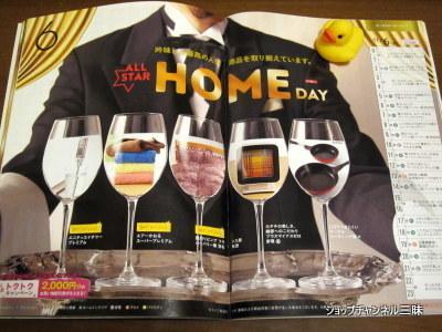 2015/11/06 ALL STAR HOME DAYショップチャンネルのガイド誌