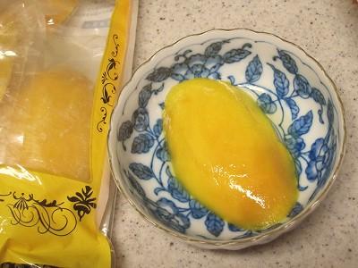 ショップチャンネルで買った冷凍カラバオマンゴー