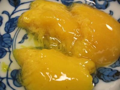 箸で切れるショップチャンネルで買った冷凍カラバオマンゴー