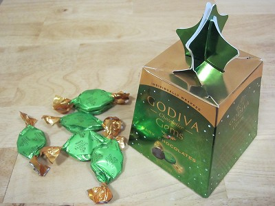 GODIVA Chocolatier Gems DARK CHOCOLATES 2.3OZ 65g