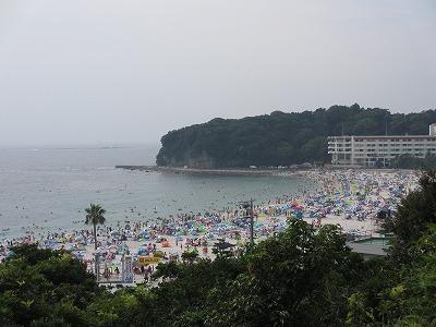 夏休みの白浜