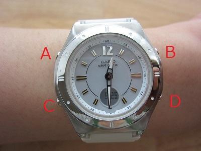 CASIOレディース電波ソーラー腕時計ウェーブセプターLWA-M141-7AJF