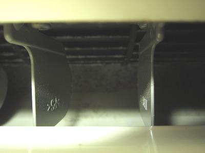 エアコン吹き出し口の掃除