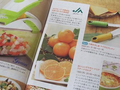 """QVC2013年2月ガイド誌の""""せとか"""""""