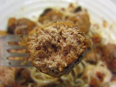 ショップチャンネルの境港うるめいわしの味わい団子とサンクゼールのトマトソースでイタリアン風