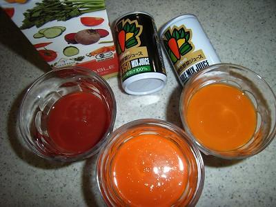 ミリオンの国産緑黄色野菜ジュース&ヴィタヴェルデの無添加ストレート有機野菜ジュース