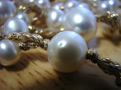 真珠のえくぼ